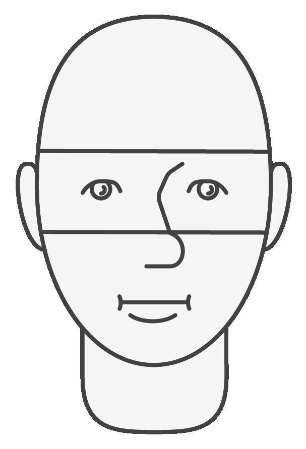Niño, cabeza y cara