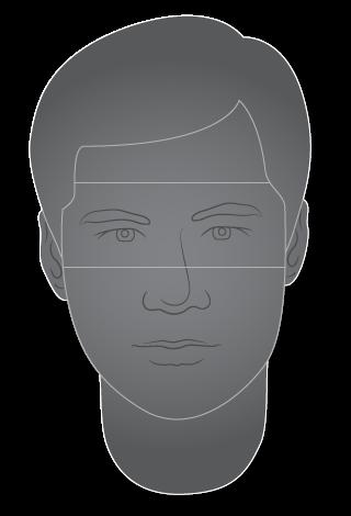 Hombre, cabeza y cara
